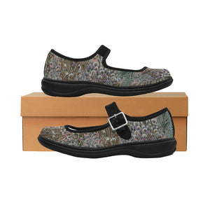 Mila Satin Tapestry Women's Mary Jane Shoes
