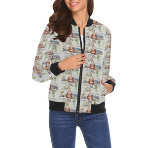 Anne of Cleves Bomber Jacket for Women