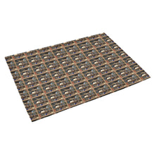 "Cats Plus Books Azalea Doormat 30"" x 18"""