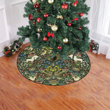 "Medieval Unicorn Christmas Tree Skirt Christmas Tree Skirt 47"" x 47"""