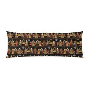 "Six Wives Zippered Pillow Case 21""x60""(Two Sides)"