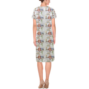 Anne of Cleves Casual Dress Short Sleeves