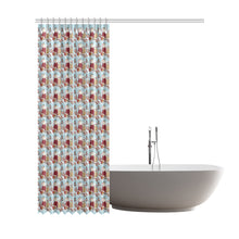 "Katherine Parr Shower Curtain 72""x84"""