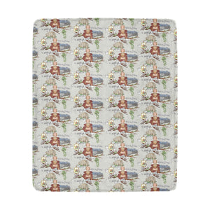 "Anne of Cleves Ultra-Soft Micro Fleece Blanket 50""x60"""