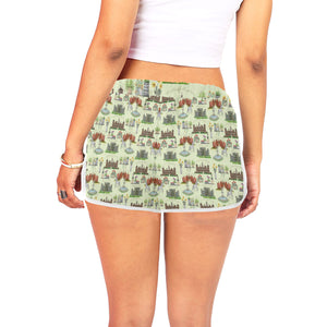 Anne Boleyn's Homes and a Summer English Garden Women's Shorts