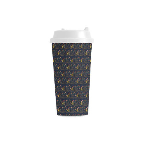 Elizabeth I Signature Double Wall Plastic Travel Mug