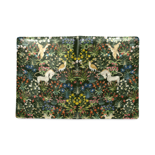Medieval Unicorn B5 size custom notebook/journal