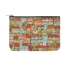 Medieval Town Accessory Pouch Carry-All Pouch 12.5''x8.5''