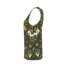 Medieval Unicorn Pattern tank top