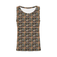 Cats+Books Tank Top All Over Print Tank Top for Women