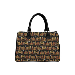 Six Wives Dinner Party Boston Handbag