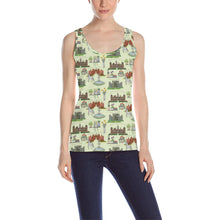 Anne Boleyn's Homes and a Summer English Garden Tank Top
