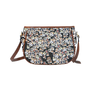 Elizabeth I Portrait Saddle Bag/Large