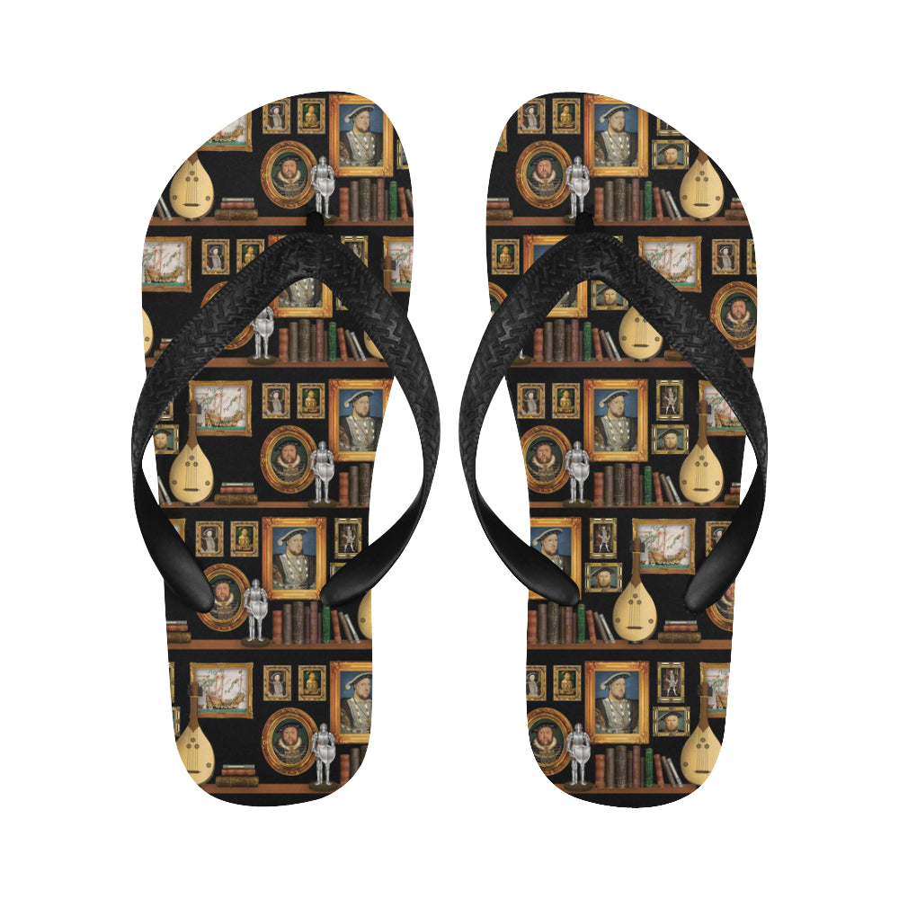 Henry VIII Flip Flops for Men/Women