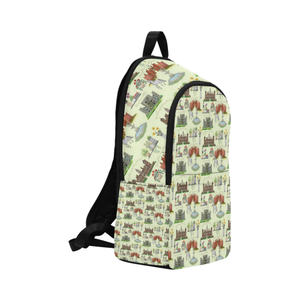 Anne Boleyn's homes Fabric Backpack for adults
