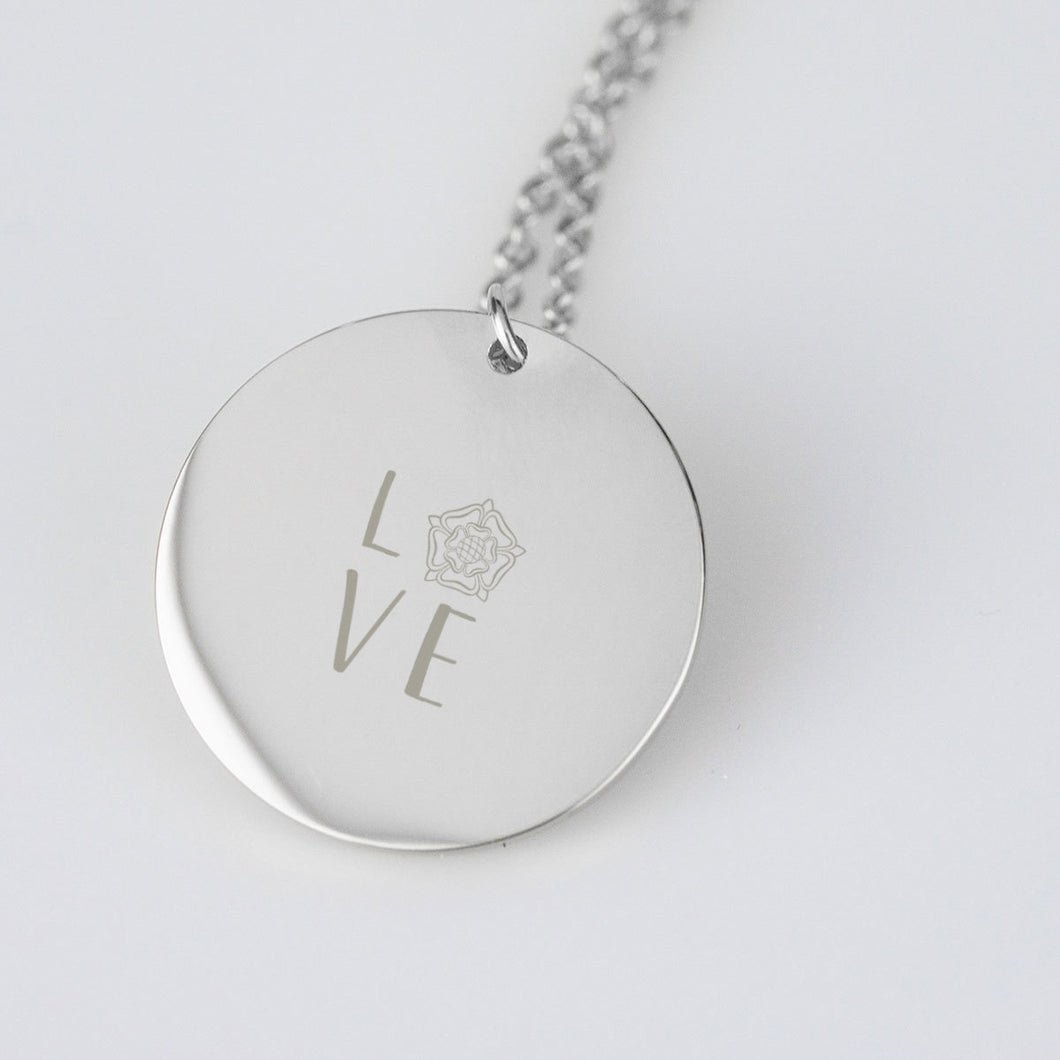 The Tudor Love sterling necklace