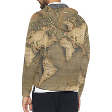 Old Map Unisex Windbreaker