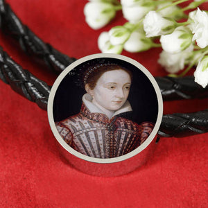 Mary Queen of Scots Portrait Charm Bracelet
