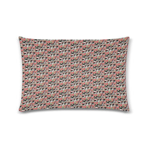 "Medieval Village Zippered Pillow Case 16""x24""(Twin Sides)"