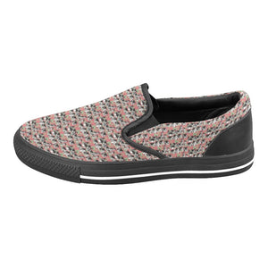 Medieval Village Women's Slip-on Canvas Shoes