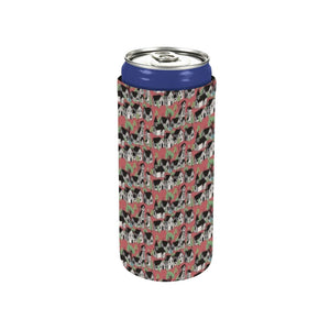 Medieval Village Neoprene Can Sleeve (5 inches)