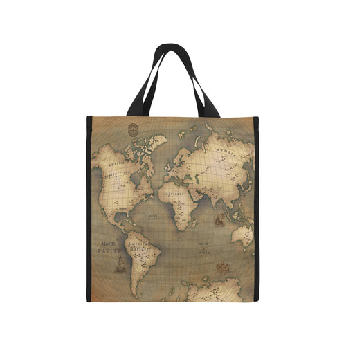 Old Map Picnic Tote Bag