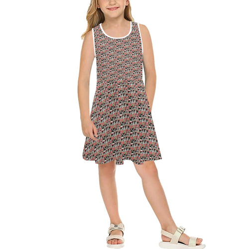 Medieval Village Girls' Sleeveless Sundress