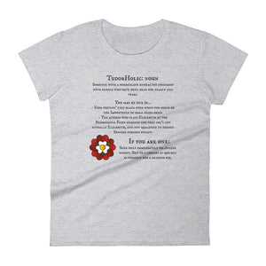 Women's Tudorholic short sleeve t-shirt