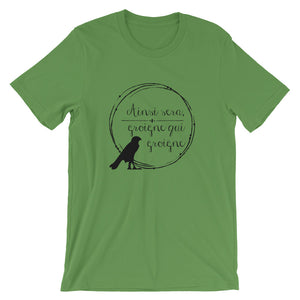 Let them Grumble - Anne Boleyn Motto Short-Sleeve Unisex T-Shirt