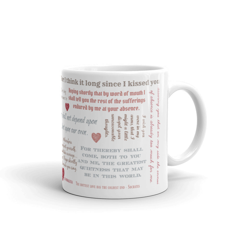 Love letters from Henry to Anne coffee mug