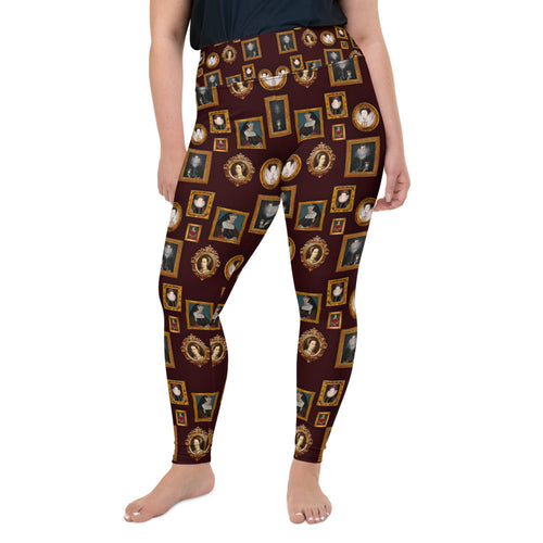 Kickass Tudor Women All-Over Print Plus Size Leggings