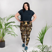 Henry VIII All-Over Print Plus Size Leggings