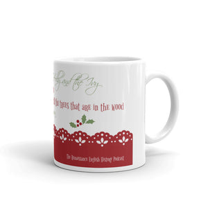 """The Holly and the Ivy"" mug"
