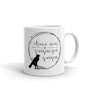 Let them Grumble - Anne Boleyn Motto Mug