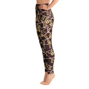 Anne Boleyn Portrait Yoga Leggings