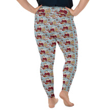 Katherine Parr Imagery All-Over Print Plus Size Leggings