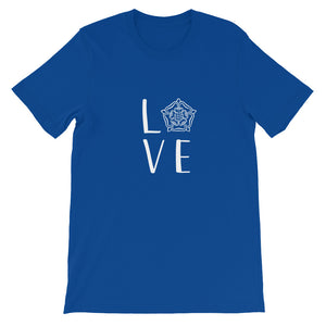 Tudor Love Short-Sleeve Unisex T-Shirt