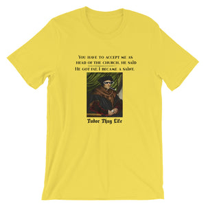 Thomas More Thug Life Short-Sleeve Unisex T-Shirt