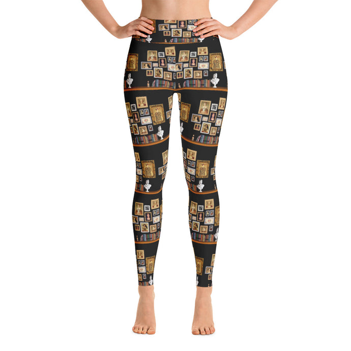 The Six Wives Portrait Yoga Leggings