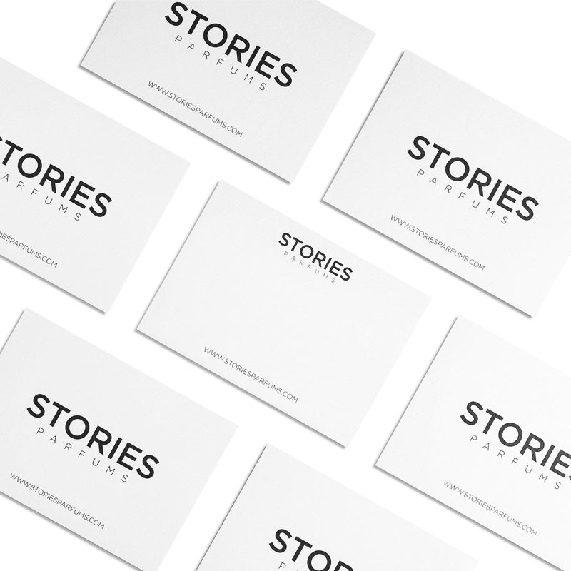 STORIES Parfums Keepsake Notecard