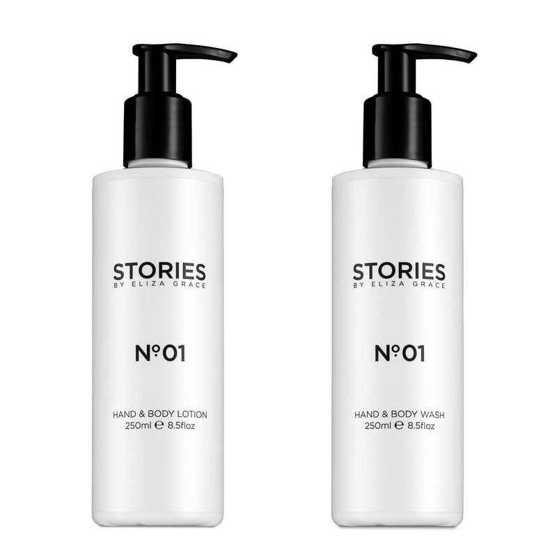 A delicately fragranced hand and body duo, to cleanse, nourish and hydrate skin. Paraben Free, SLS Free & Cruelty Free