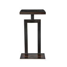 Square Granite Side Table