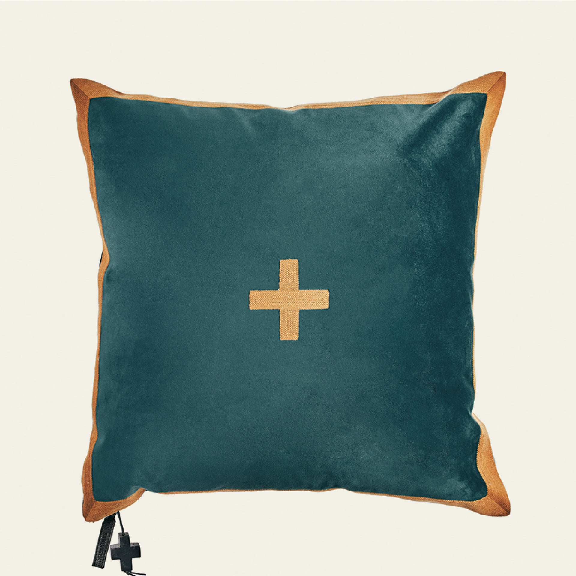 Cardenal Pillow - Turquoise