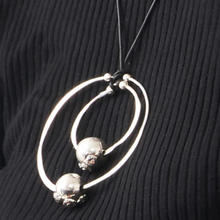 Doble Circulo Pendant, Sterling