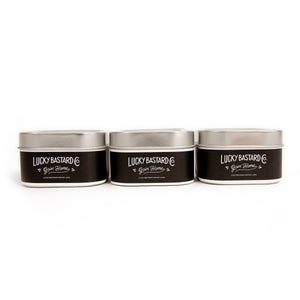 Travel Candle Bundle - Lucky Bastard Co