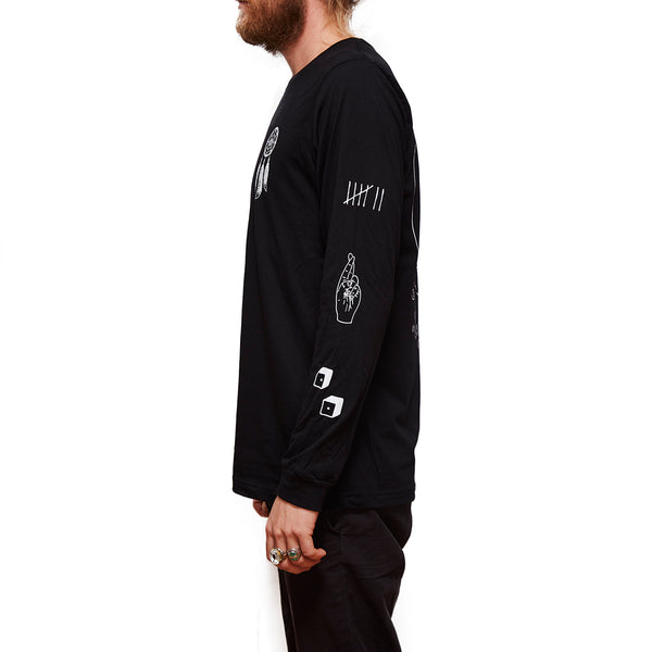 the Dream Catching Eye Long Sleeve - Lucky Bastard Co