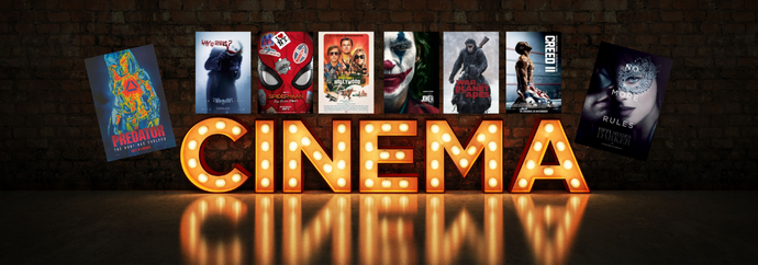 We are now selling original cinema posters!