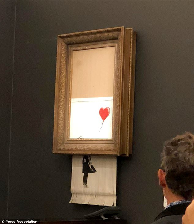 Banksy's Shredding Art Work - Marketing Genius