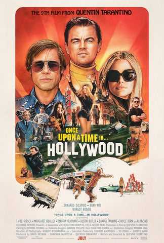 Once Upon a time.... in Hollywood movie poster - egoamo.co.za