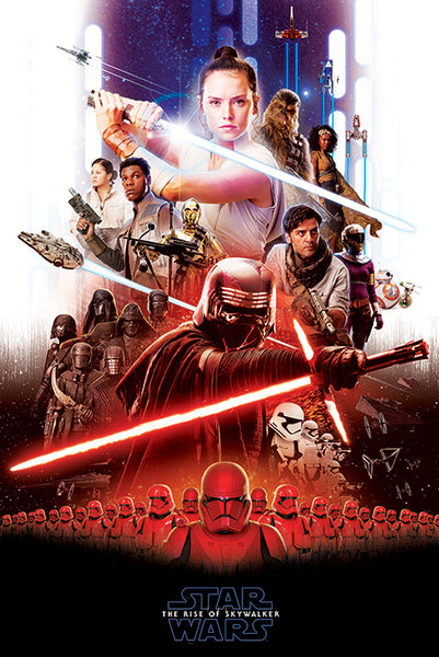 Star Wars The Rise of Skywalker Movie Poster EgoAmo Posters